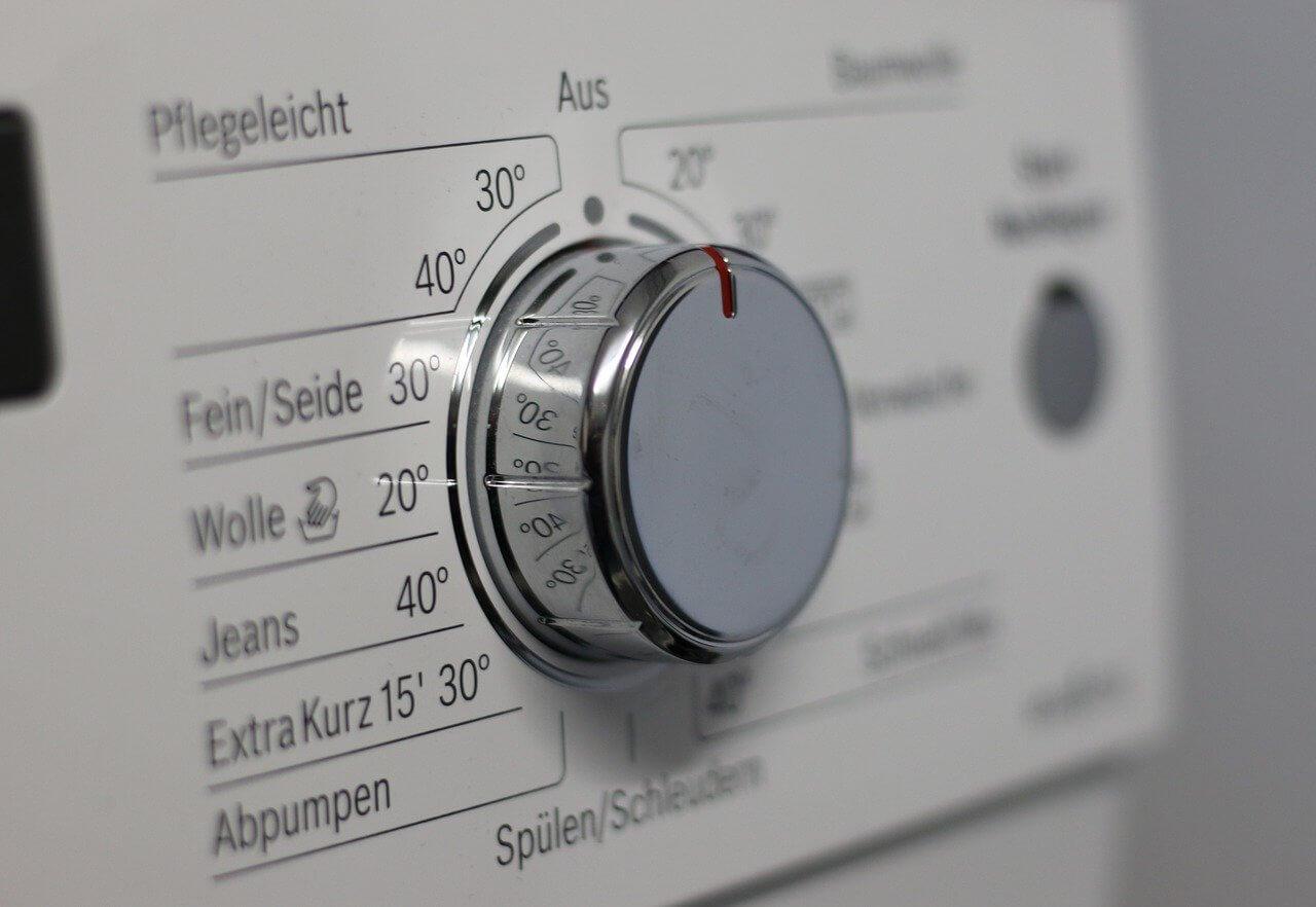 switch, knob, washing machine